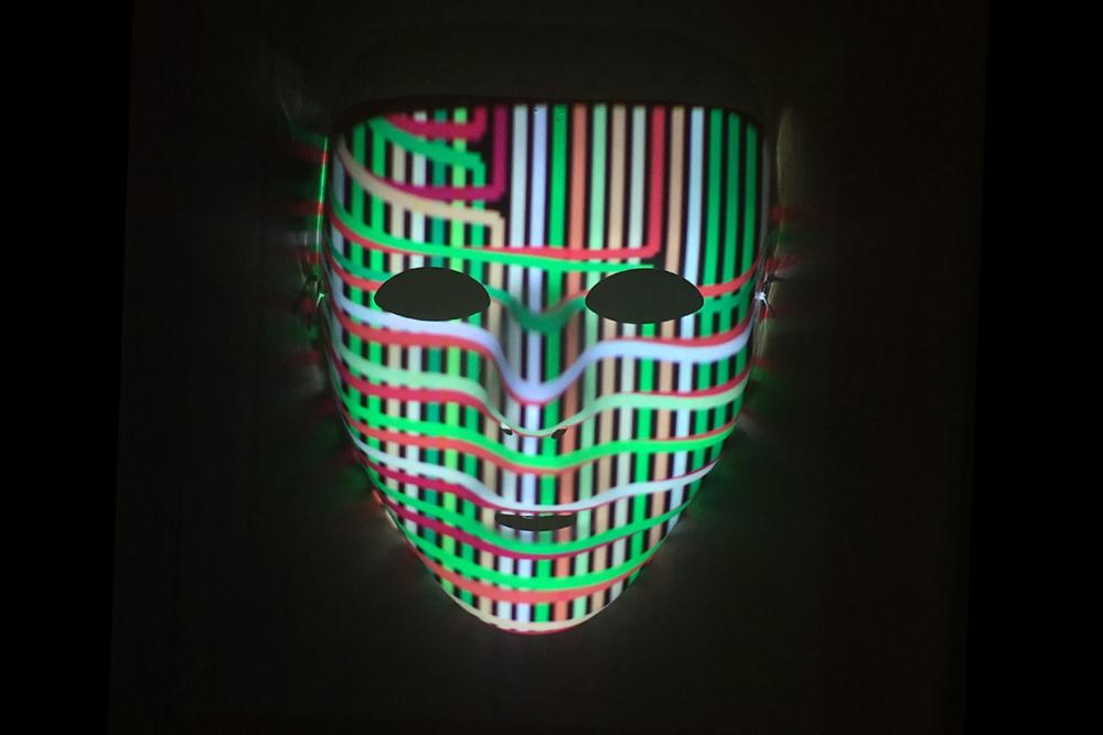 Sort algorithm visualization mask