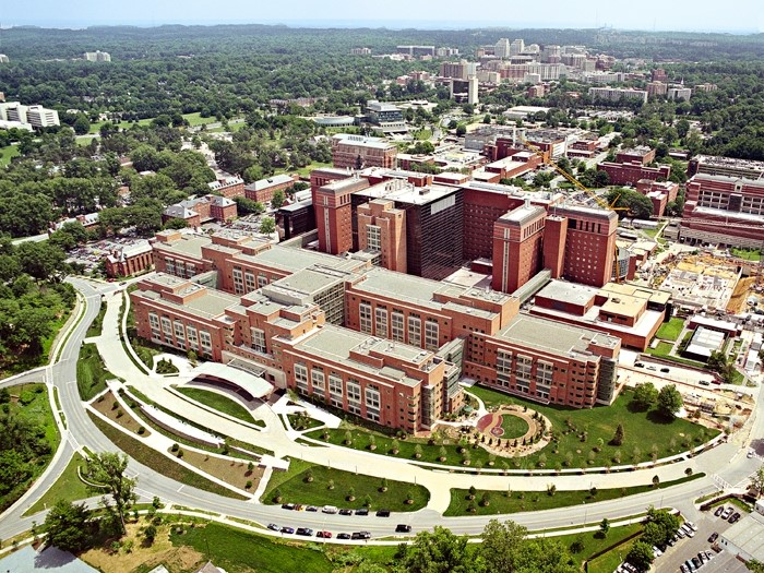 National Institute of Health Campus - Aerial View