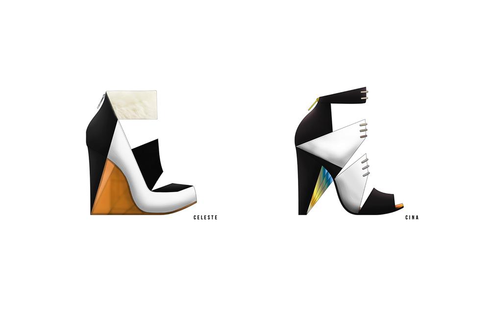 Shape And Form In Design : Line shape form u gloria yuen