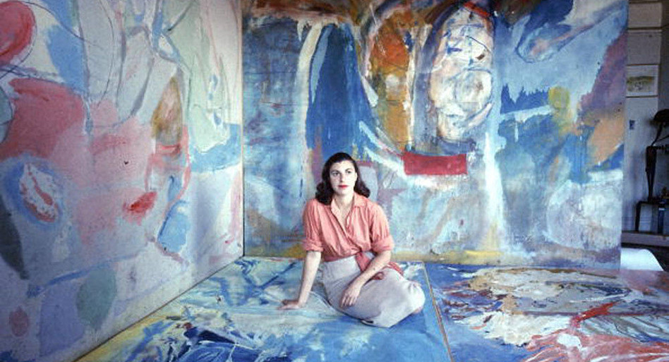 Helen Frankenthaler, the painter who inspired this project.