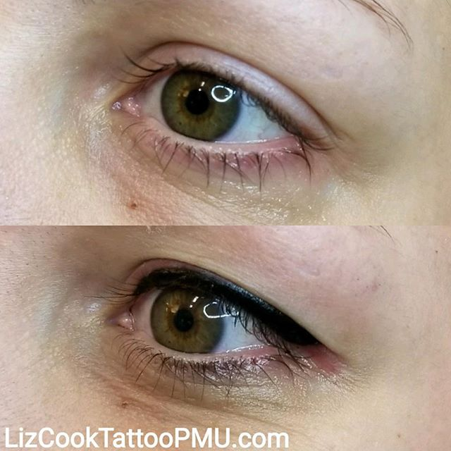 Before & After Eyeliner Black