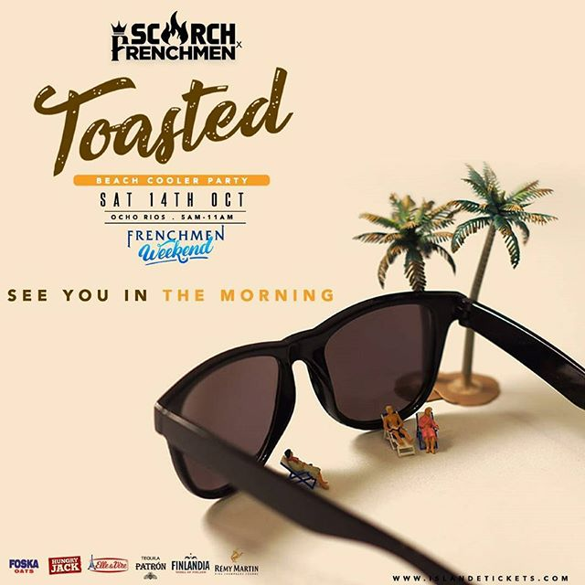 We can't wait to see you in the morning.  #FrenchmenWeekend #ScorchxFrenchmen  #GetToasted