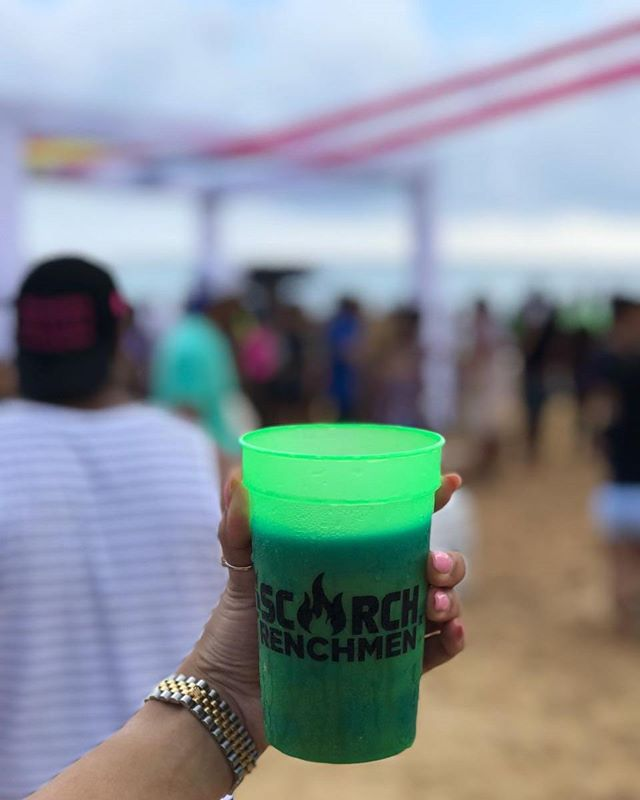 With a cold drink in hand, sand between my toes, and music in my brain is the right way to get Toasted this Frenchmen Weekend.  #FrenchmenWeekend  #Toasted #ScorchxFrenchmen