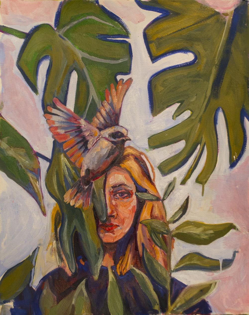 Farrah. Sold. Farrah 16x20 oil on canvas