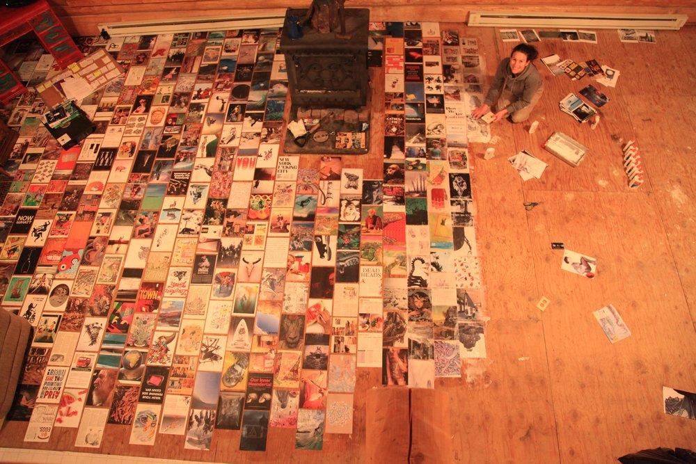 Making the magazine floor
