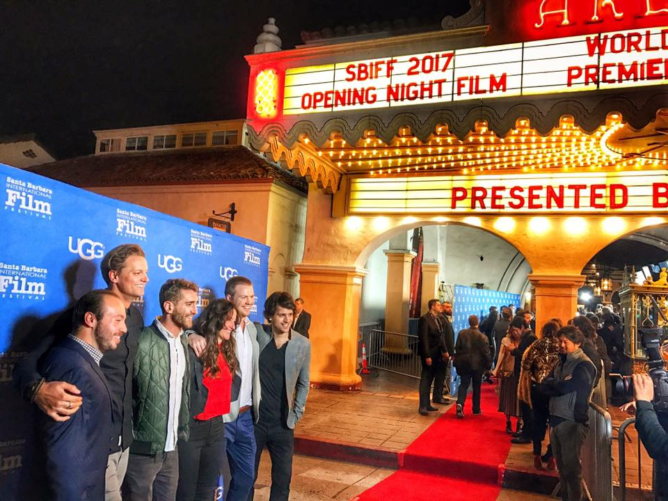 Opening Night of Charged Film at Santa Barbara Film Festival, over 2000 people filled the theatre - what a night!