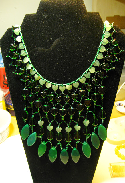 I+love+the+rainforest+aventurine+glass+and+agate+necklace.jpg