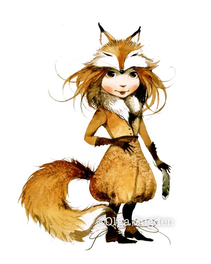 Fox Costume Girl  sc 1 st  Olga Sugden & Fox Costume Girl u2014 Olga Sugden Images