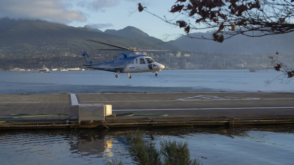 Our ride to Victoria. Still frame grabbed from the GH4.