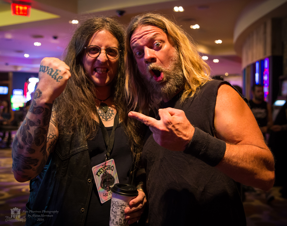 Mike Scheidt and Pepper Keenan // Psycho Las Vegas