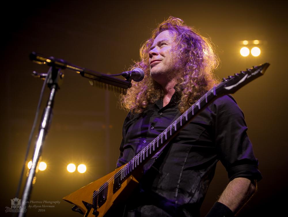Dave Mustaine //Megadeth // Eugene, OR