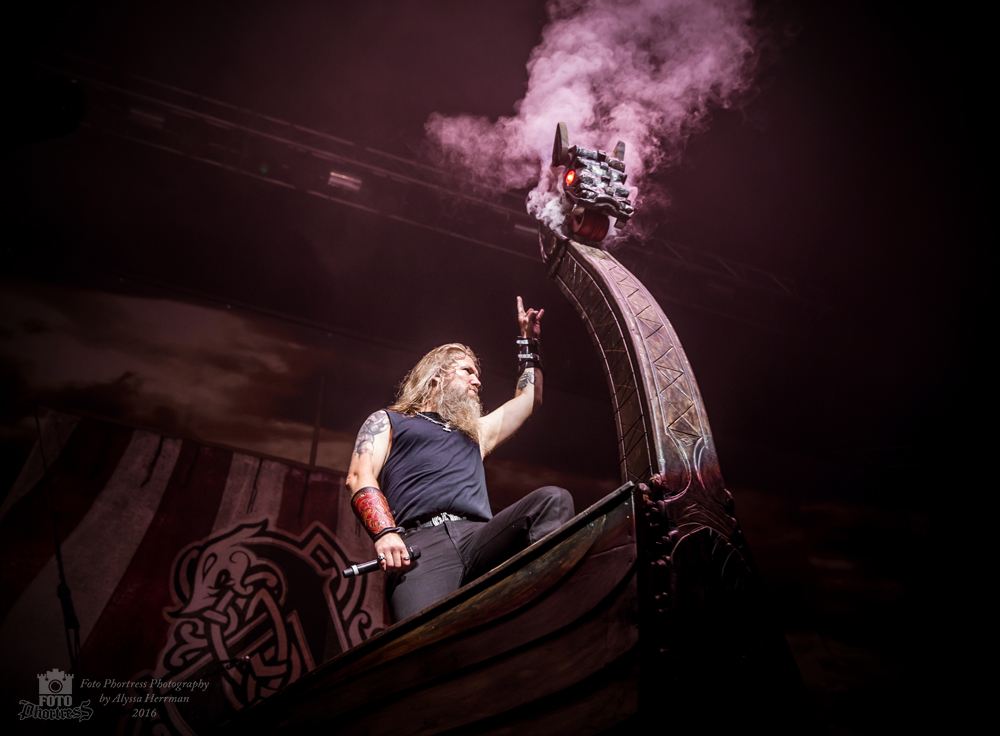 Amon Amarth // Eugene, OR