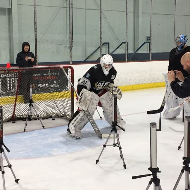 Amazing day testing a great group of athletes. Really happy with some new concepts and the data that was collected. Thanks @netgainhockey for a great first day! @theparksports @kinductperformance @1080motion  A big thanks to @swiftperformanceequipment for making the trip. To any coaches out there looking for timing gates there product is fantastic. Accurate, easy to use, and extremely adaptable. Highly recommended