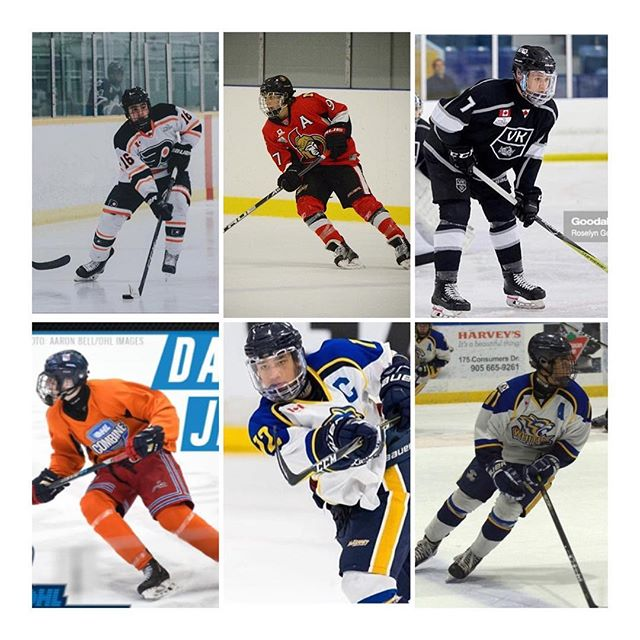 Congrats to these gentlemen for their selection in the 2018 OHL Draft. Your respective teams have drafted great talent but even better young men. Proud of you all. . . To all players, remember, the draft is a number. It is not your identity. It does not define you. It does not control how hard you work. There is so much this amazing game has to offer. It is full of different opportunities, avenues, and people, that when you look back, will have helped shape who you are.  Work hard, be a good teammate, and enjoy the process.