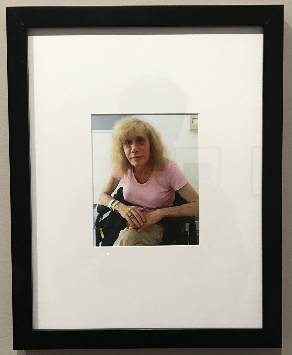 "Donna Gottschalk, ""Myla in rehab at Rivington House four months before she died"", 2012. (Image by author)"