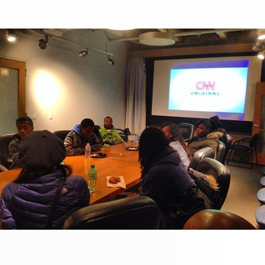 "CNN is producing a Docu-Series titled ""Chicagoland"". In conversations with After School Matters, CNN asked for teens to attend a scereeing of the Doc with a short discussion afterwards. Out of literally thousands of programs ASM could've chosen, they chose our TechKno Camp teens... how awesome is that?!?"