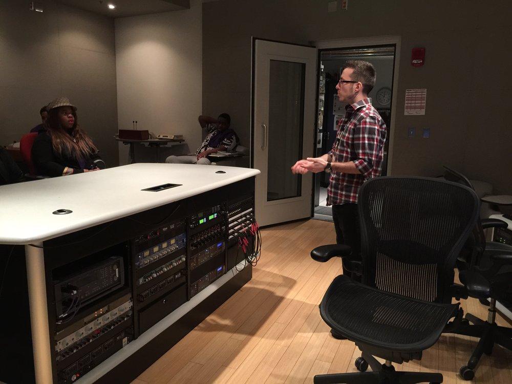 Shure Recording Studio
