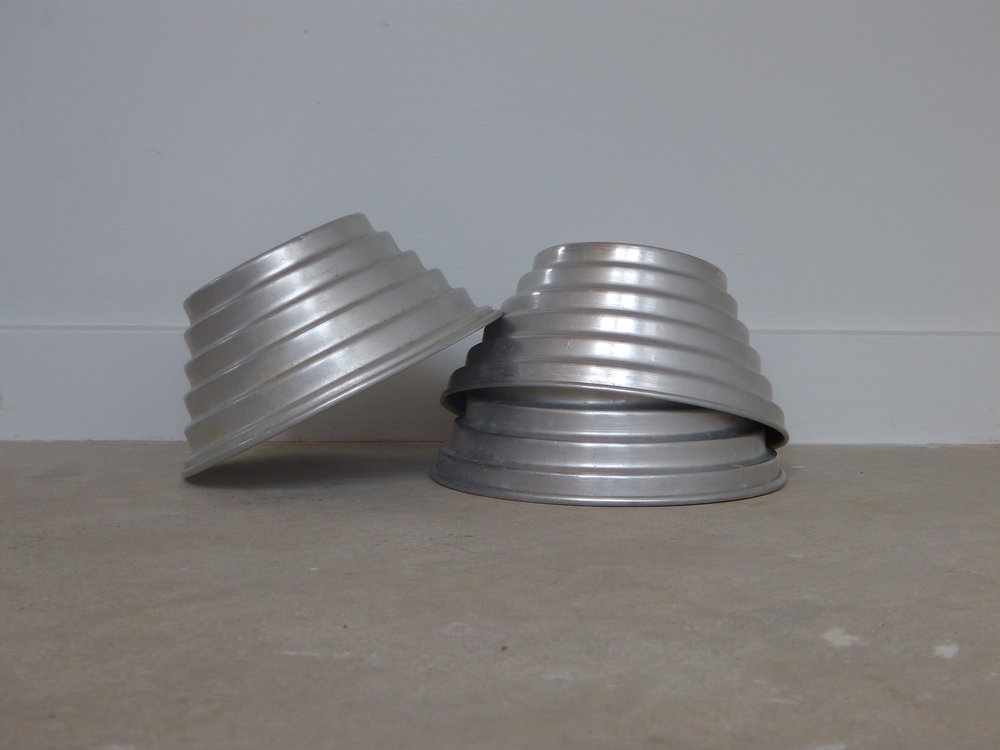 Vintage Tin moulds