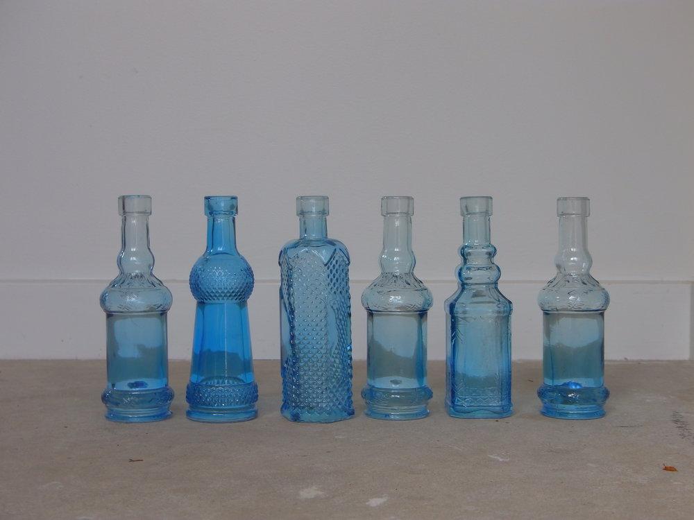 vintage COLOured glass