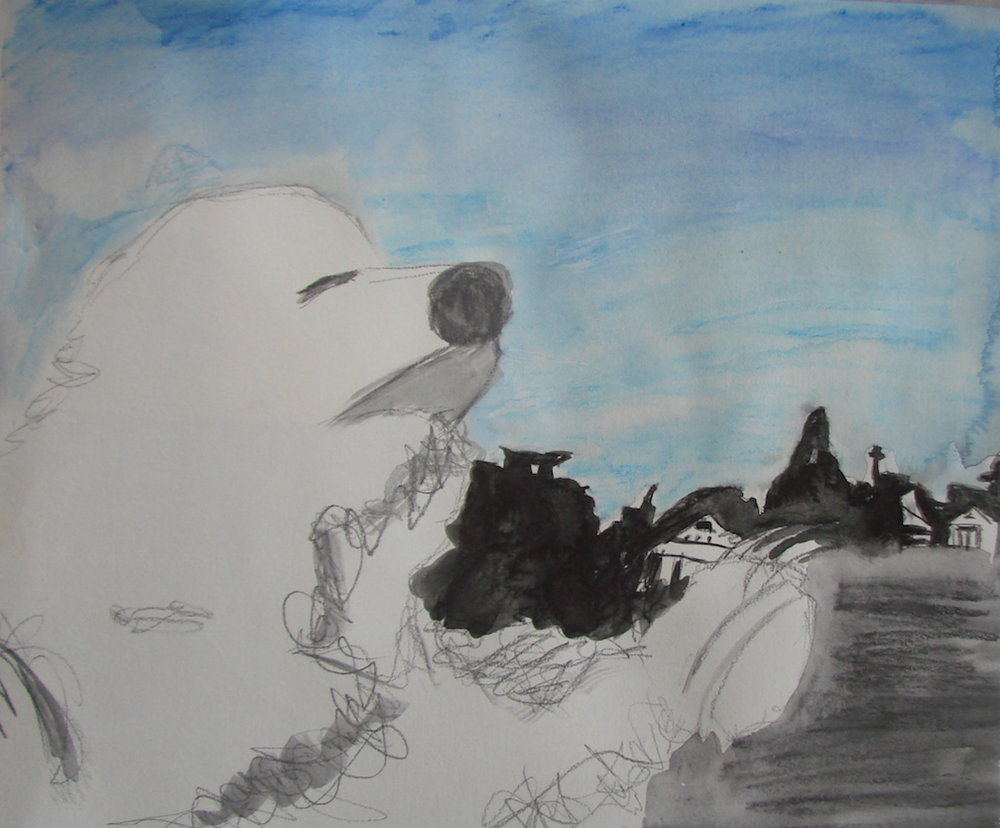 Character Sketch Polar Bear 2014