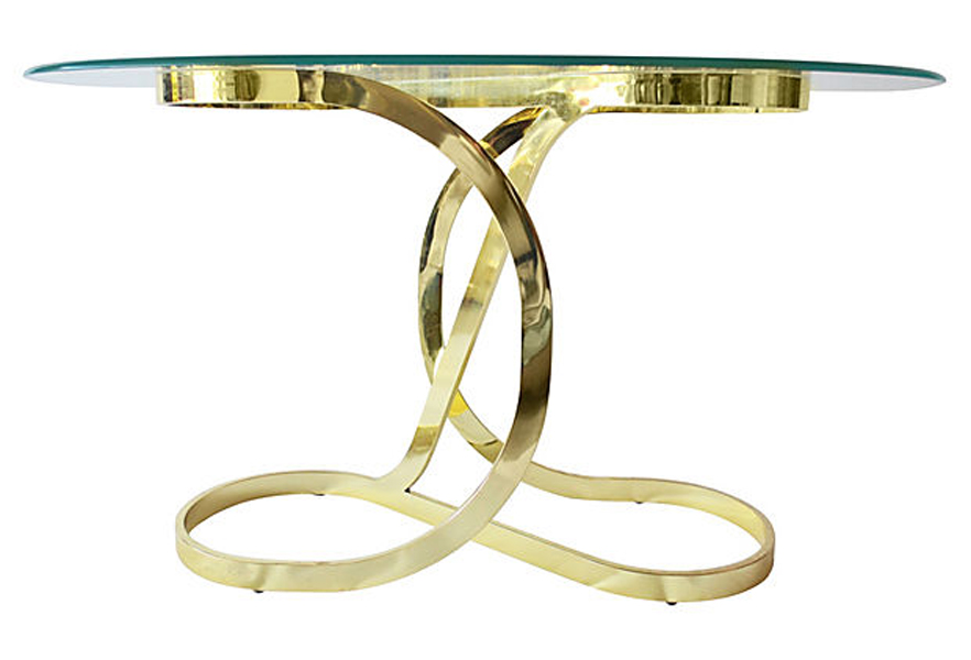 Brass entryway table.jpg