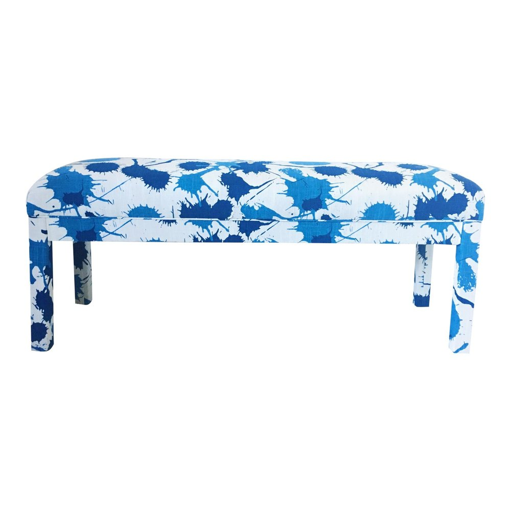 1970s-mid-century-modern-parsons-blue-spatter-upholstered-bench-1247.jpeg