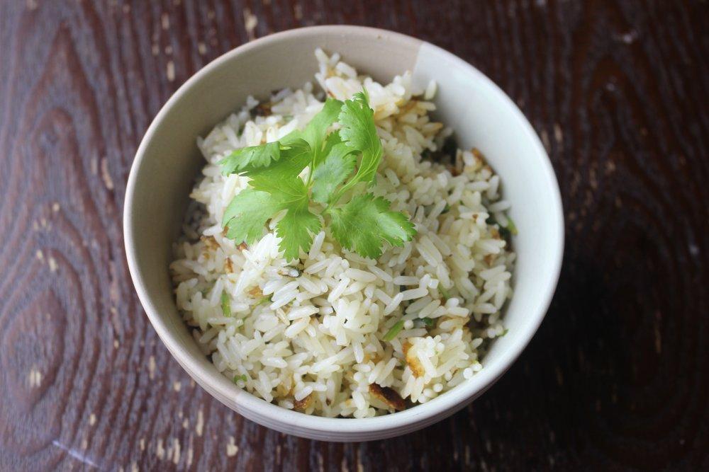 Fresh Cilantro Rice Recipe