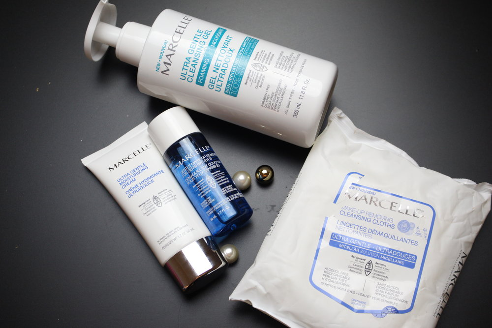 mercelle ultra gentle cleansing line
