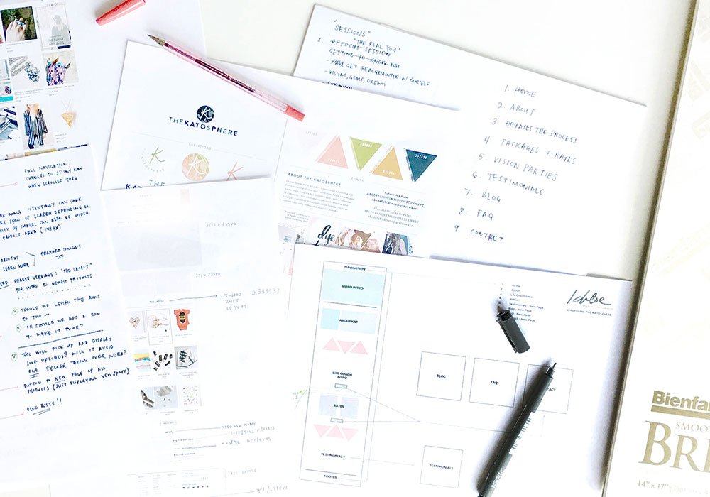BRAND STYLING - Having a logo and creating an actual brand identity are two completely different things. Let's discover how we can style your branding by talking in depth about your vision and goals.