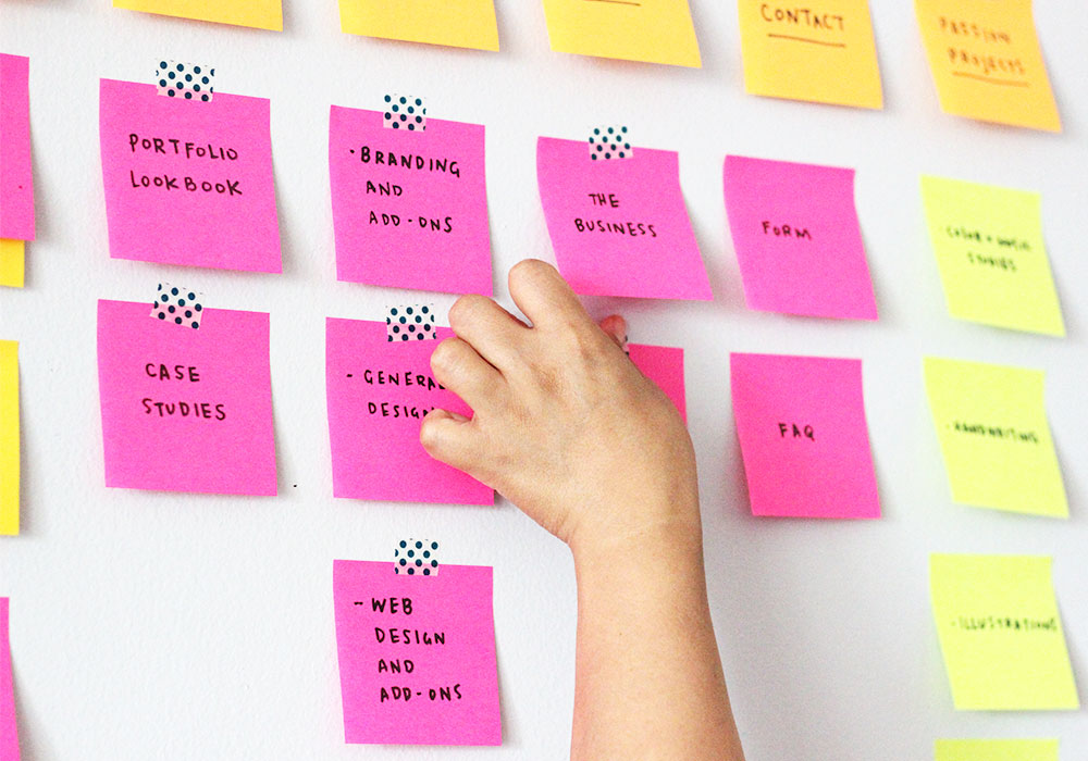 WEB PLANNING + DESIGN - Creating websites are so easy nowadays, but how you lay it out matters to who's viewing it.Together, we'll organize all your web needs and create a wireframe that works.