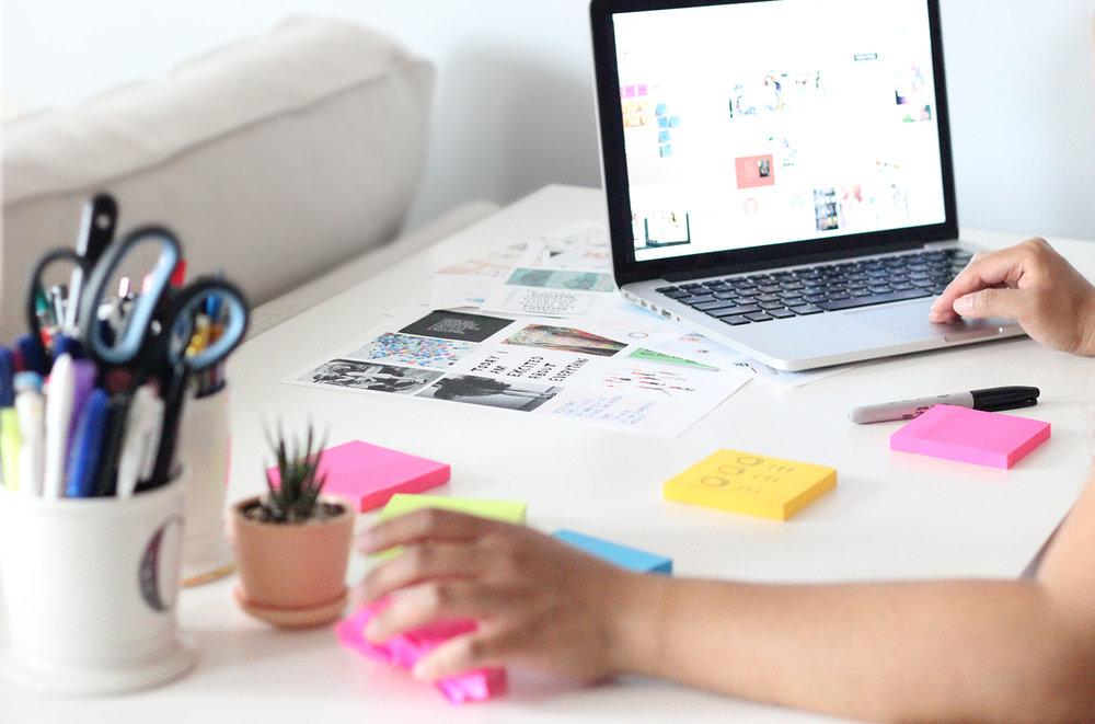 work. brand. create. - w/ your design sidekick + collaborative partner