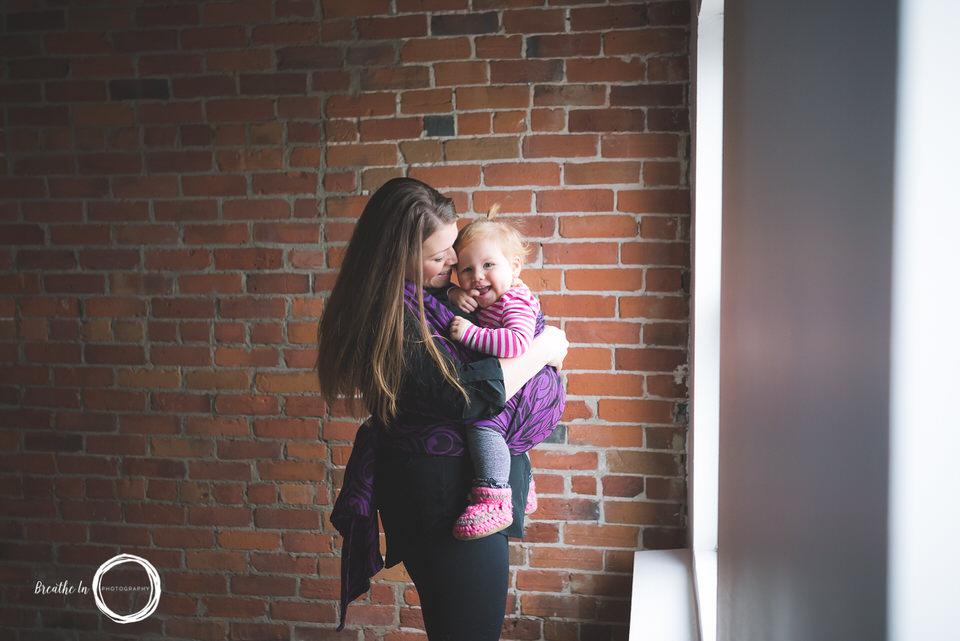 Ottawa Babywearing Photography