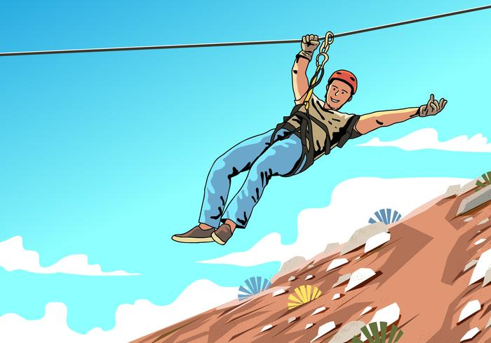 Our zip-line is an accredited ACCT zip-line and at Sojourn our main focus is your safety.