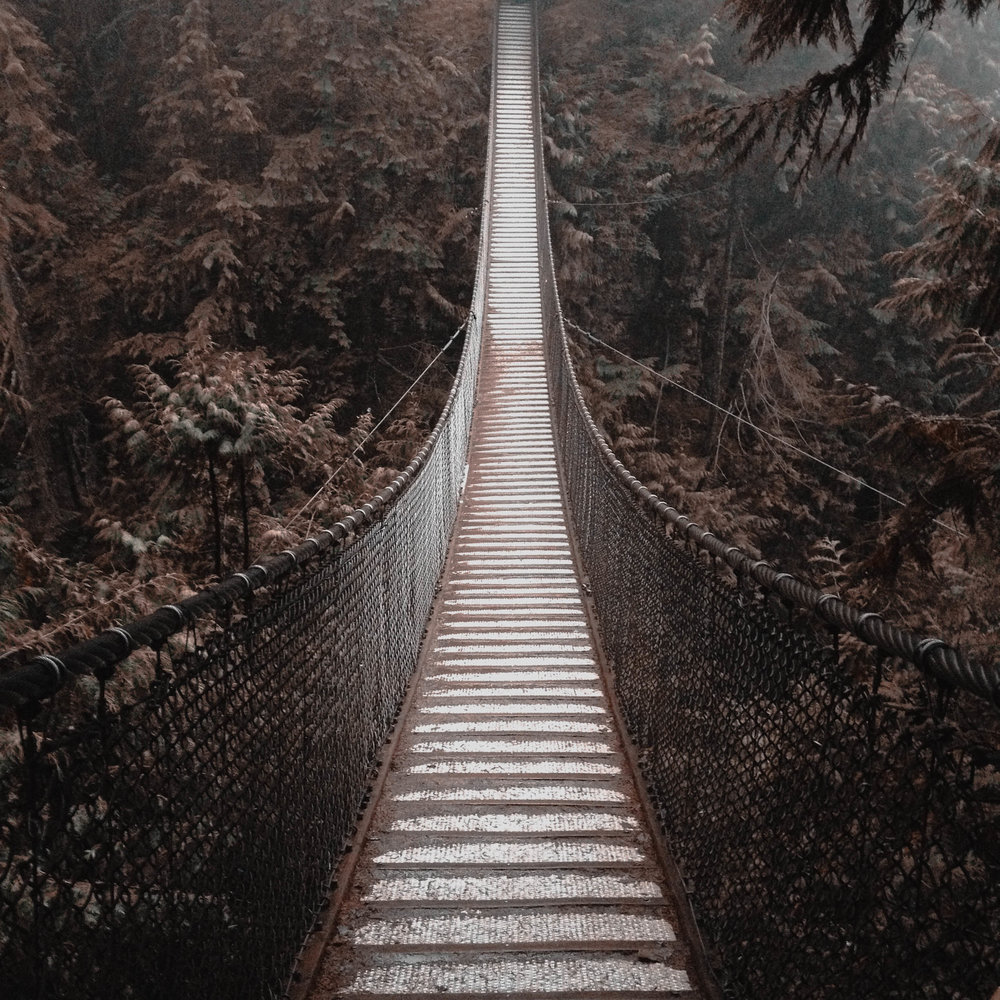 Lynn Valley Suspension Bridge, Vancouver, BC, Canada