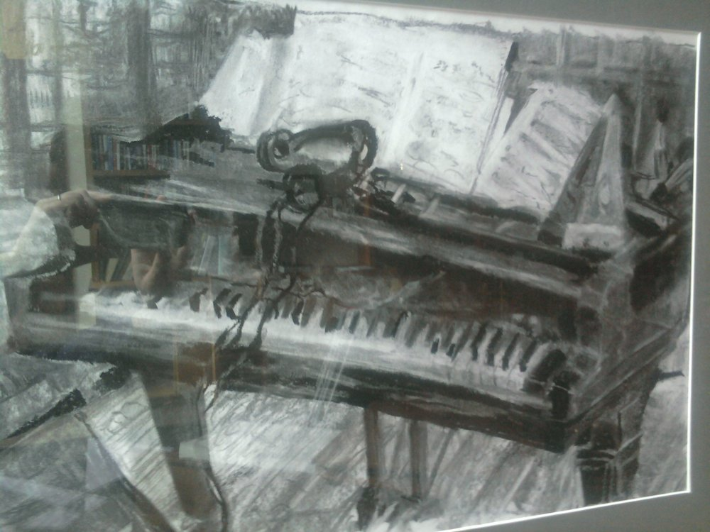 Piano in Hansee Hall