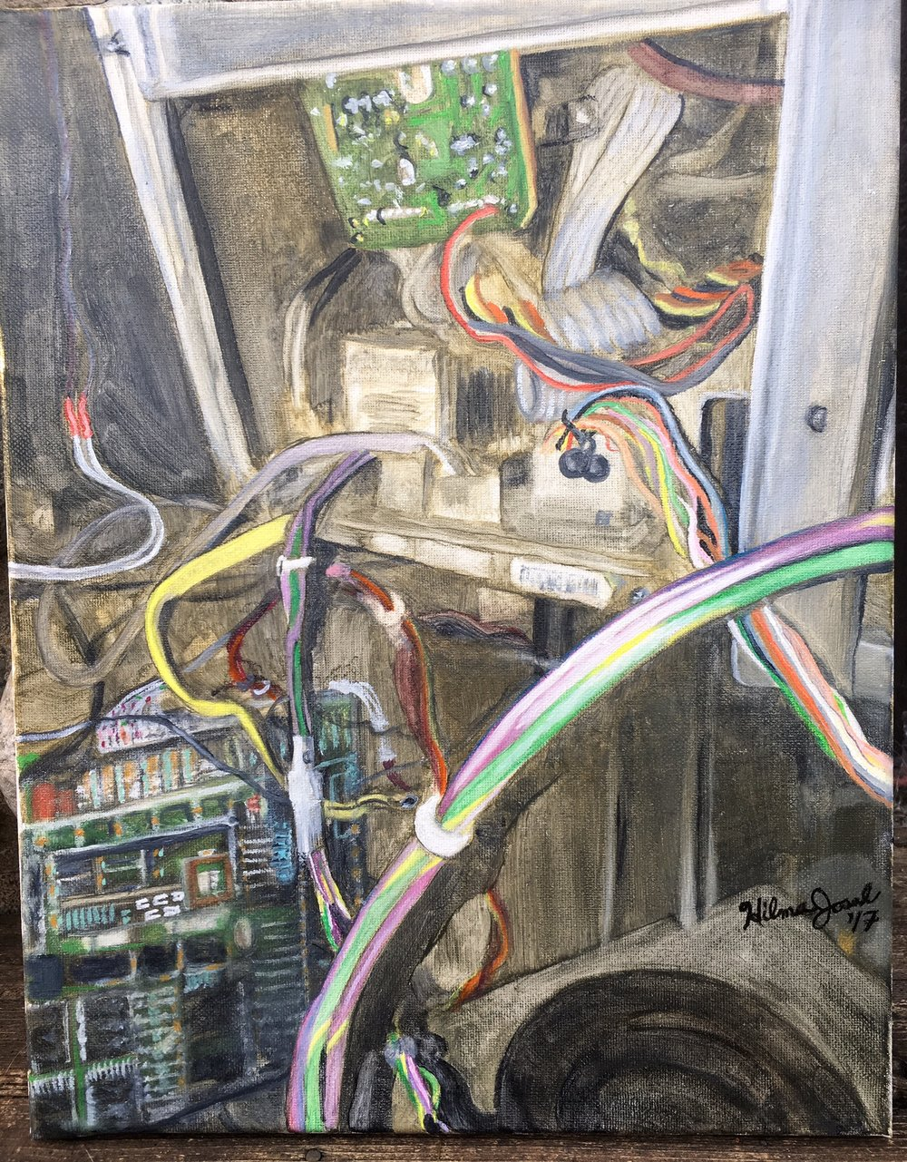 Inside MK2 Arcade Machine PCB's and Wires