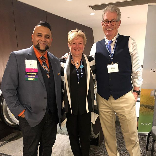 Caught two #CAGP stars for a photo. Thanks Paul Nazareth and Fraser Green. #cagp19