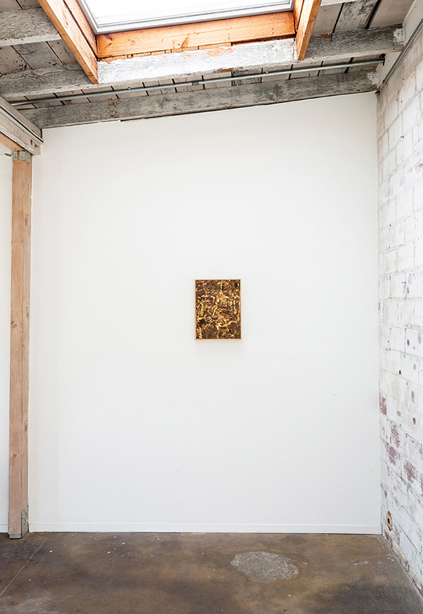 Installation View with Untitled, 2016.
