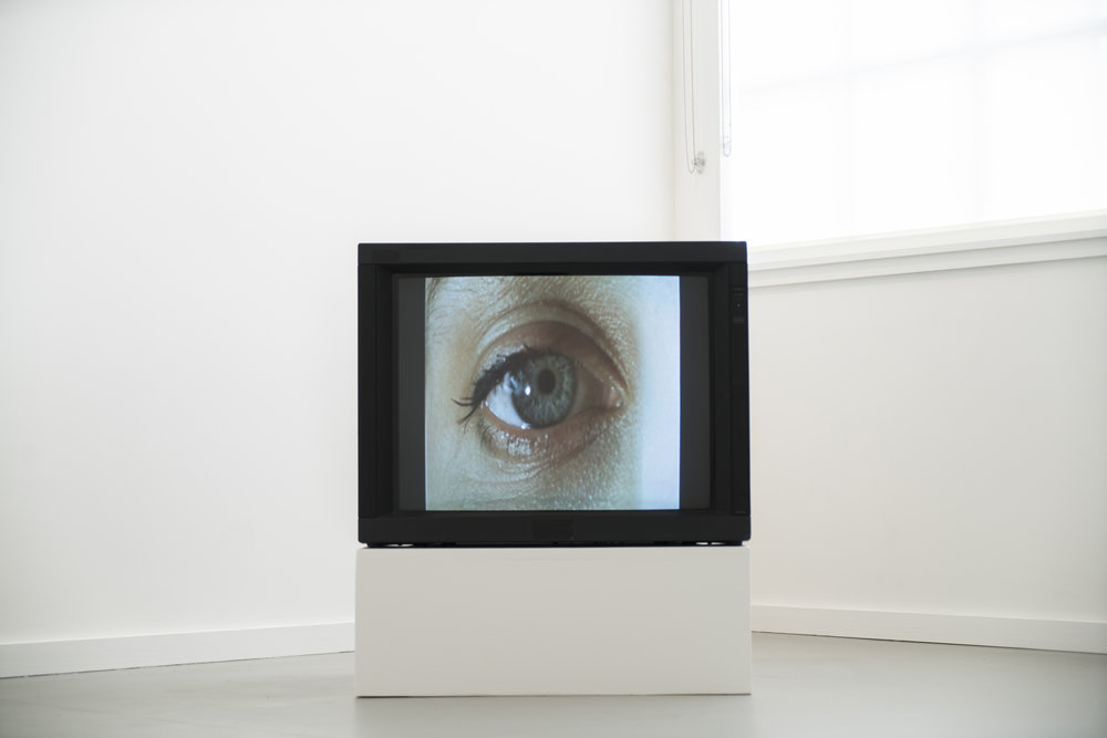 Sara Cwynar,  Still, Little Video , 2015. Sony PVM Monitor. Digital video, 2m26s. Silent