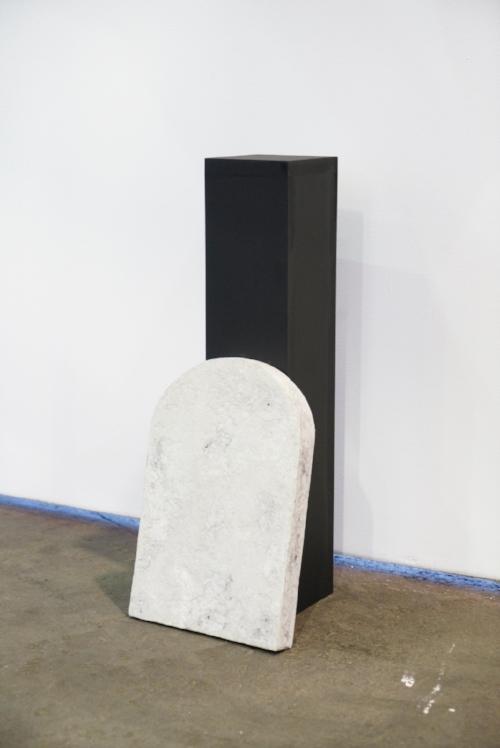Basic body, 2016   Paper maché    1' x 5'' x 1''