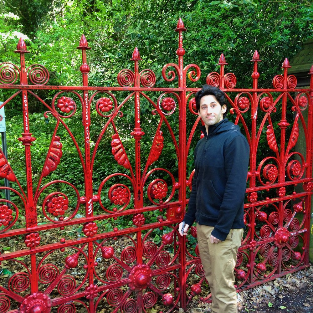 Outside the gates of Strawberry Fields #tbt