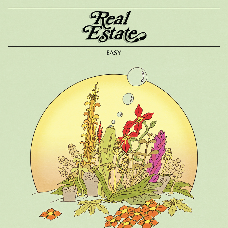 "Real Estate - ""Easy"" 7 inch. Cover by Robert Beatty."