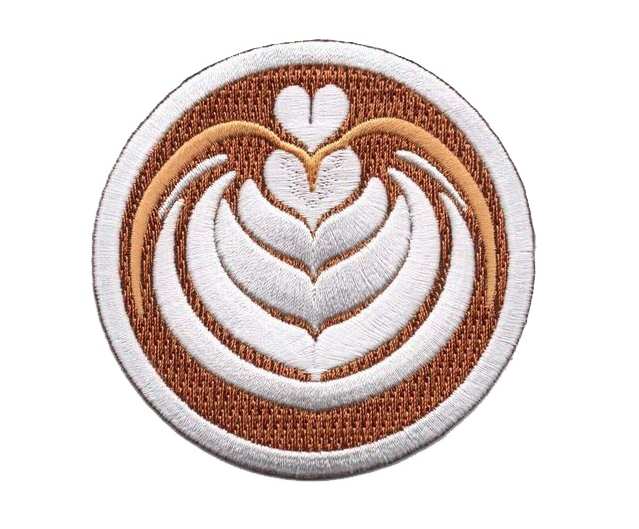Latte Patch  via Strike Gently Co.