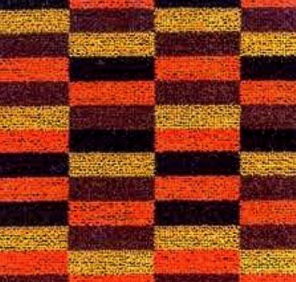 Moquette carpet from the London Underground. Image via  tube_patterns