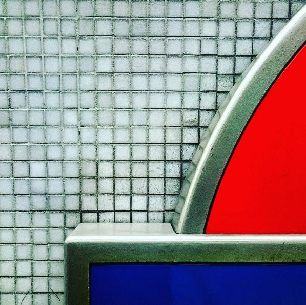 Waterloo Station. Image via  tube_patterns