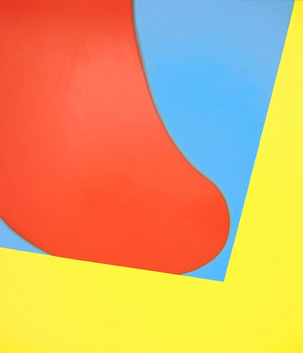 "Osamu Kobayashi,  Lick,  2016, oil on canvas, 84"" x 72"""