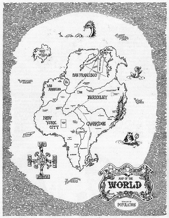 Humbead's Revised Map of the World