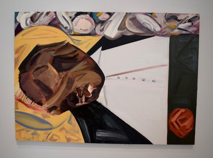 Dana Schutz,  The Wake (2017)