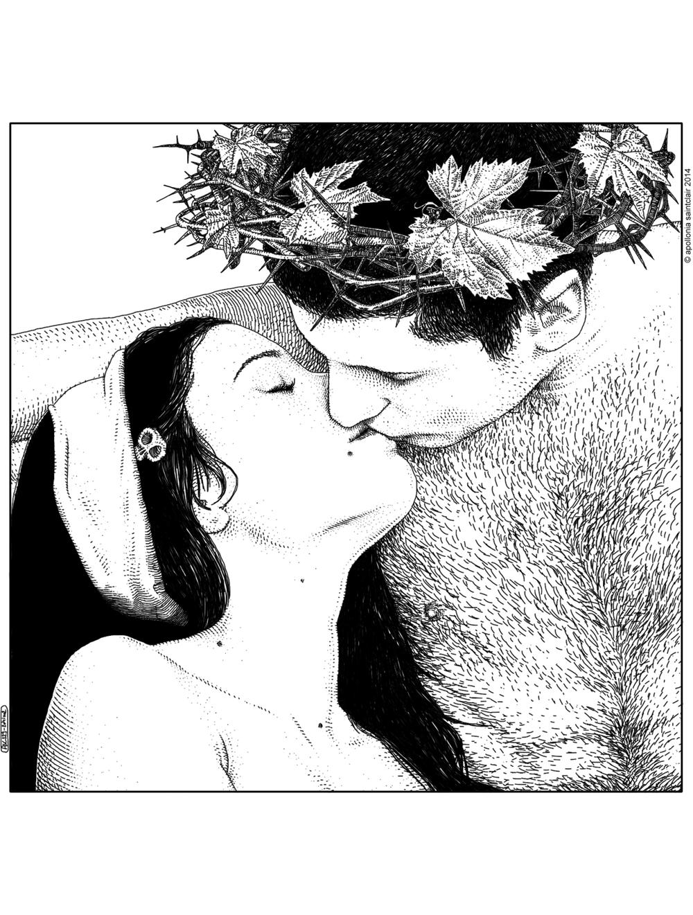 Apollonia Saincalir - Le baiser du deux fois né (The Bakuss)