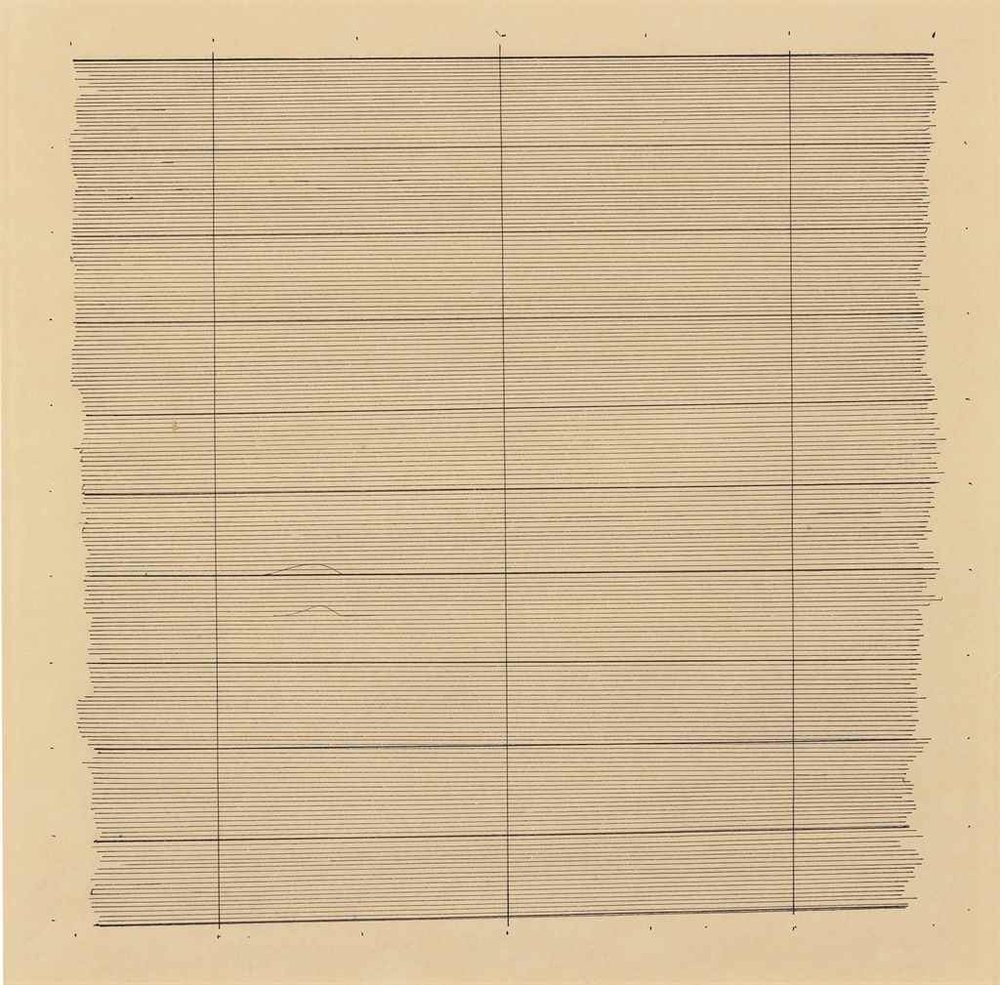 Agnes Martin ,  The Sea/Ocean Water